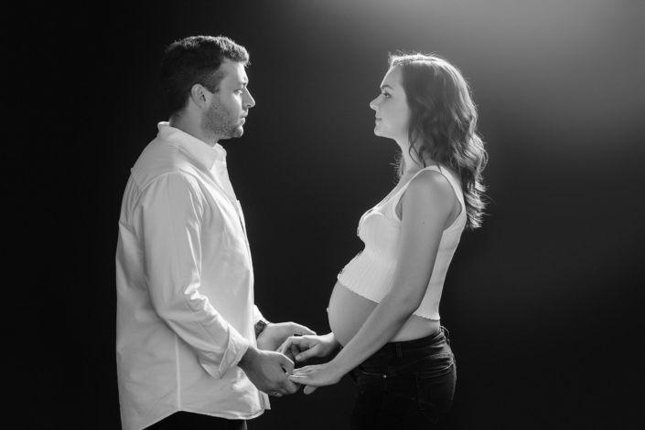Фотосессия беременных, в студии 83