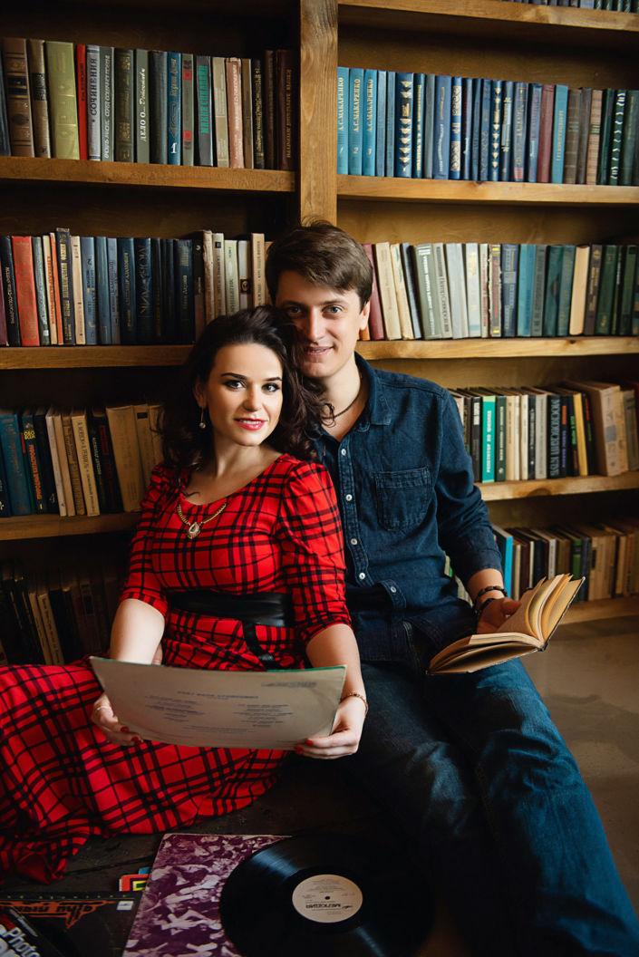 Love story фотосессия, в студии, 32